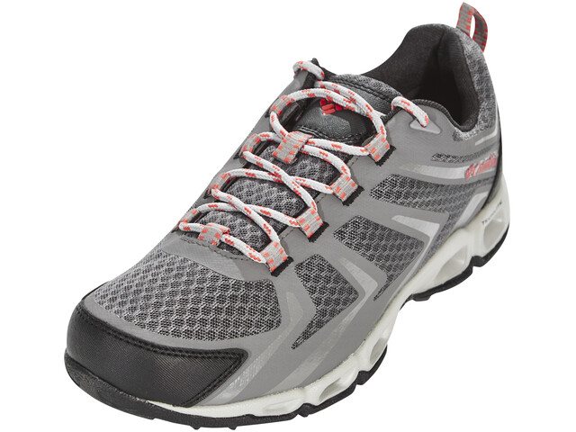 Columbia Ventrailia 3 Low Outdry Shoes Women Dark Fog/Sunset Red